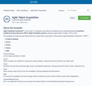 Agile Recruitment Kanban Board